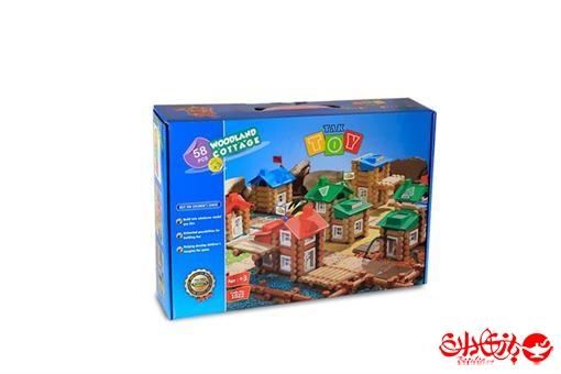 اسباب-بازی-خانه جنگلی ٥٨ تکه