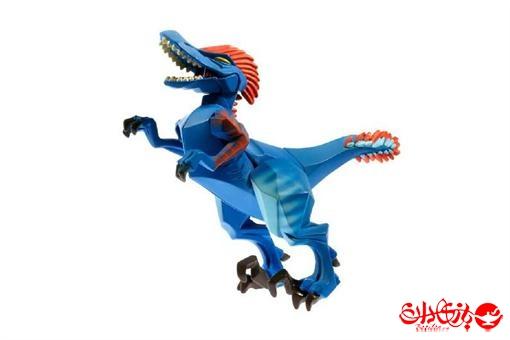 اسباب-بازی-دایناسور وکیوم رنگ آبی