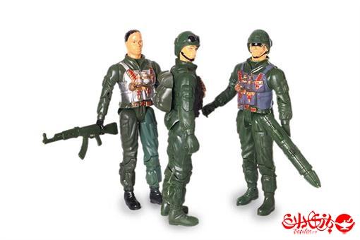 اسباب-بازی-ست سربازهای جنگی ارتش