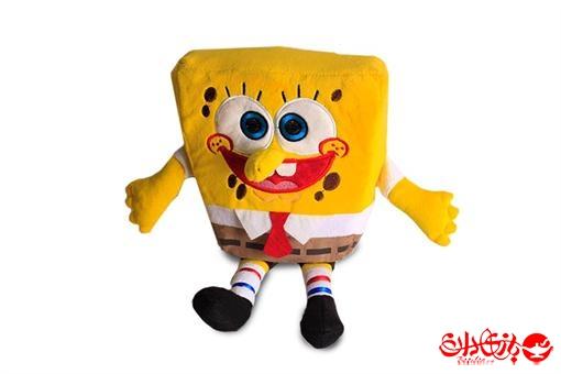 اسباب-بازی-عروسک باب اسفنجی آویز پولیشی خارجی  سایز کوچک
