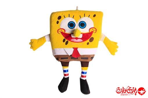 اسباب-بازی-عروسک باب اسفنجی آویز پولیشی خارجی سایز بزرگ