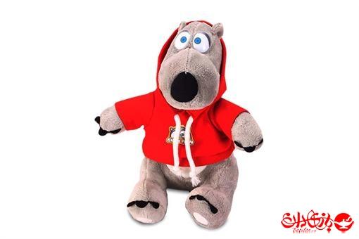 اسباب-بازی-عروسک برنارد سایز متوسط پولیشی خارجی نانو