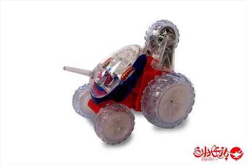 اسباب-بازی-ماشین دیوانه چراغ دار کنترلی