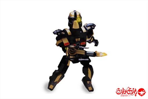 اسباب-بازی-لگو ربات ترانسفور گارد جنگل 200 تکه