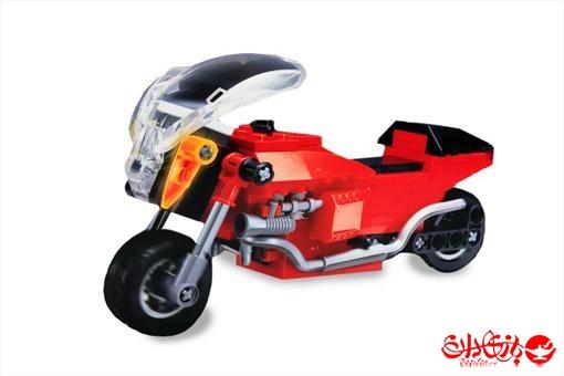 اسباب-بازی-لگو موتورسیکلت ١٣٩ تکه