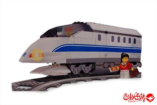 اسباب-بازی-لگو قطار سریع السیر ١٧٨ تکه