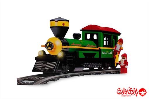 اسباب-بازی-لگو قطار شادی کریسمس 178 تکه