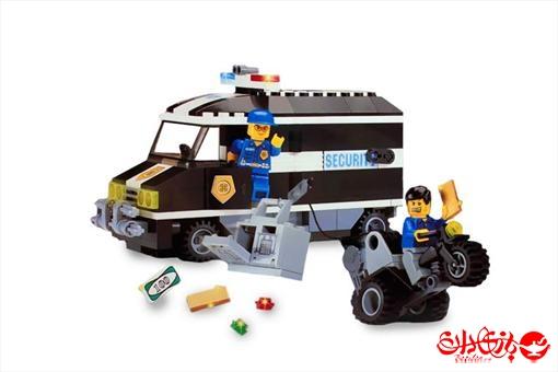 اسباب-بازی-لگو کامیون حمل پول 209 تکه