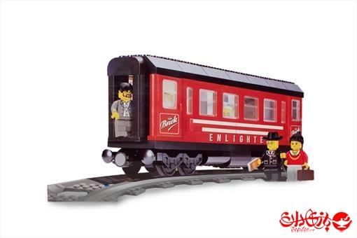 اسباب-بازی-لگو قطار مسافربری 217 که