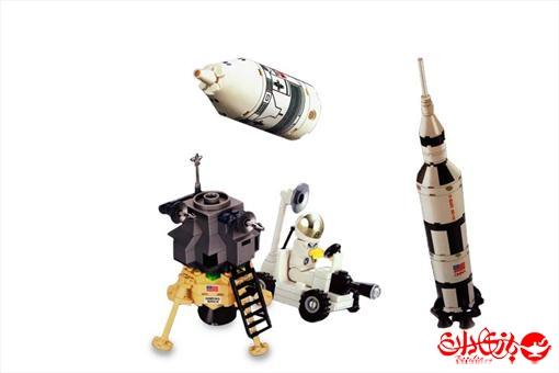 اسباب-بازی-لگو تیم فضانوردی در کره ماه 229 تکه
