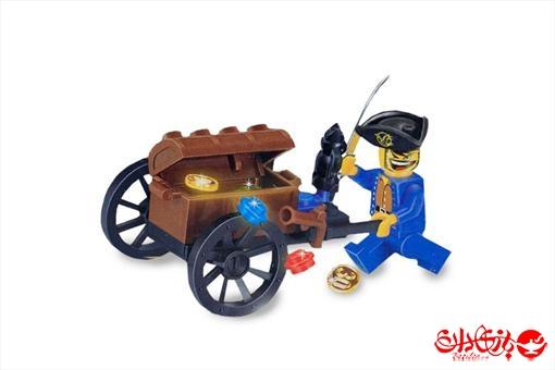 اسباب-بازی-لگو صندوق گنج دزدان دریایی 25 تکه