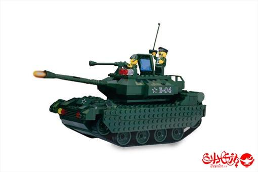 اسباب-بازی-لگو تانک جنگی 327 تکه