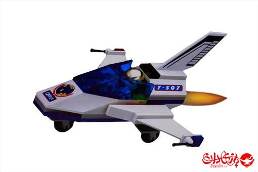 اسباب-بازی-لگو قایق فضاپیمای سرعتی ٦١ تکه