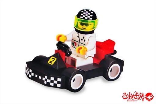 اسباب-بازی-لگو 33 تکه ماشین مسابقه ای