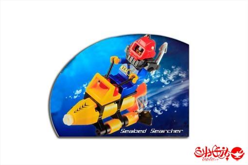 اسباب-بازی-لگو قایق گشت دریایی 29 تکه