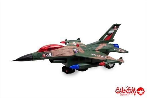 اسباب-بازی-هواپیمای جنگی F-16 متوسط