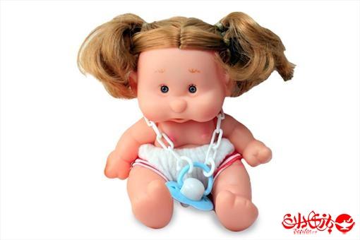 اسباب-بازی-عروسک دختر توپولی آوازخوان طرح سفیدسایز 1