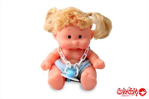 اسباب-بازی-عروسک دختر توپولی آوازخوان طرح آبی سایز 1
