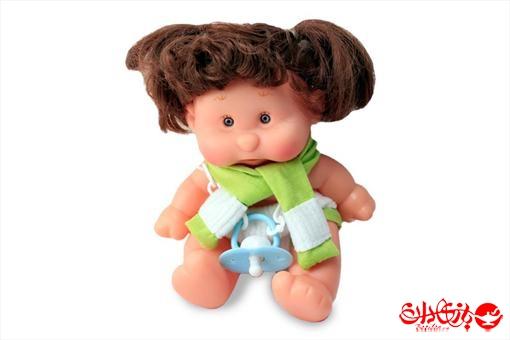اسباب-بازی-عروسک دختر توپولی آوازخوان طرح سبز سایز 1