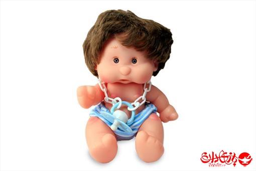 اسباب-بازی-عروسک پسر توپولی آوازخوان طرح آبی سایز 1