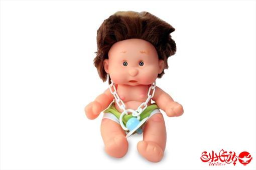 اسباب-بازی-عروسک پسر توپولی آوازخوان طرح سبز سایز 1