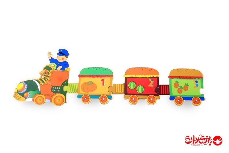 تصویر شماره 3  پازل قطار چوبی 29 تکه آموزشی کودک