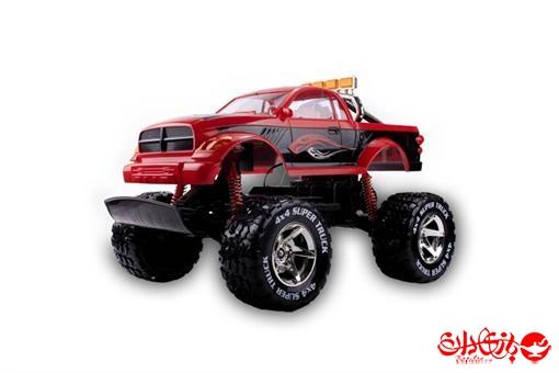 اسباب-بازی-ماشین جیپ شاسی بلند رادیو کنترلی بزرگ