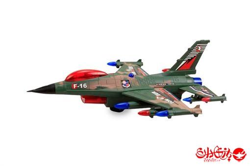 اسباب-بازی-هواپیمای جنگی F-١٦ بزرگ