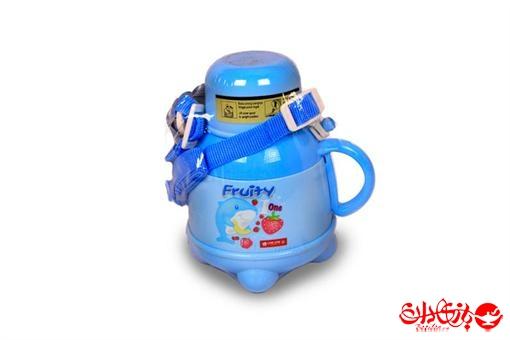 اسباب-بازی-قمقمه لیوان دار و دسته دار دو جداره 1