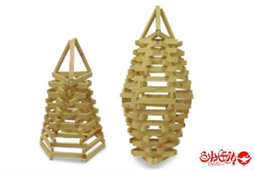 اسباب-بازی-چوب چین ١٠٥ عددی جعبه چوبی