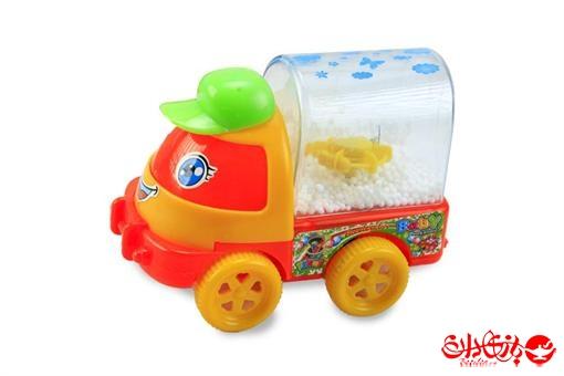 اسباب-بازی-کامیون قدرتی برفکی
