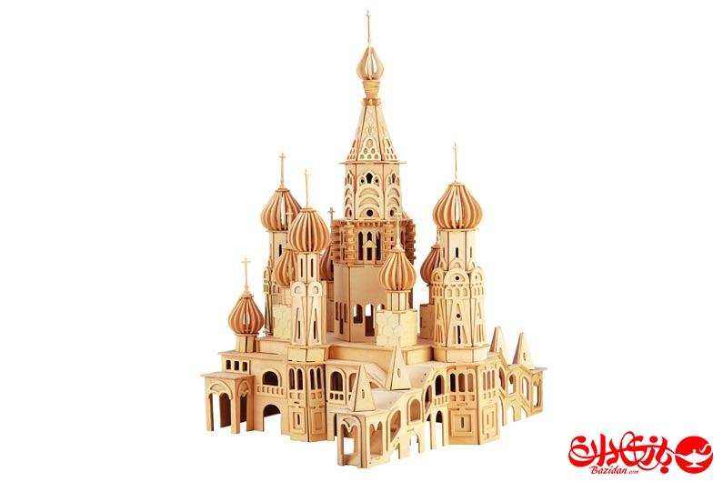 تصویر-شماره-1-جورچین-و-ماکت-چوبی-3-بعدی-کلیسای-سن-پترزبورگ-13-لایه-بزرگ