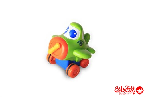 اسباب-بازی-هواپیمای قدرتی نشکن فشاری سبز مارک کین وی