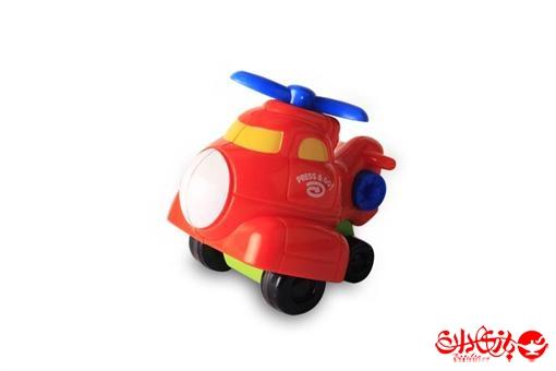 اسباب-بازی-هلی کوپتر قدرتی نشکن فشاری قرمز مارک کین وی