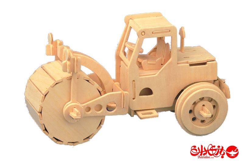 تصویر-شماره-1-جورچین-و-ماکت-چوبی-3-بعدی-غلتک-جاده-2-لایه
