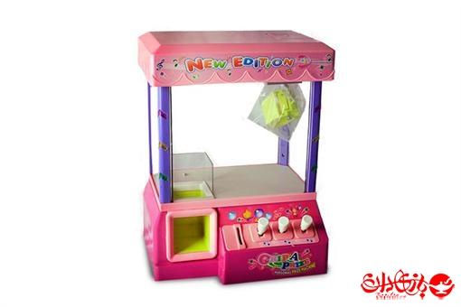 اسباب-بازی-دستگاه هدیه یاب ربات چنگکی شهربازی