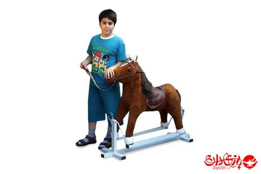اسباب-بازی-اسب سواری عروسکی شاسی دار