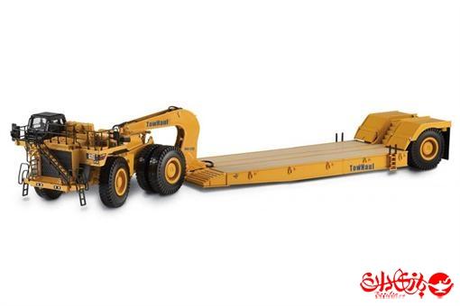 اسباب-بازی-ماکت تریلی 18 چرخ مارک CAT بزرگ