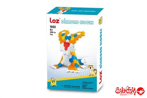 اسباب-بازی-پازل بلوک انعطاف پذیر مدل سگ 200 قطعه