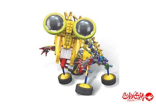 اسباب-بازی-ربات ساختنی مدل ریزور ٣٨٩ قطعه
