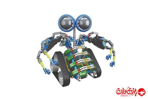 اسباب-بازی-ربات ساختنی مدل توربو ٣٦٢ قطعه