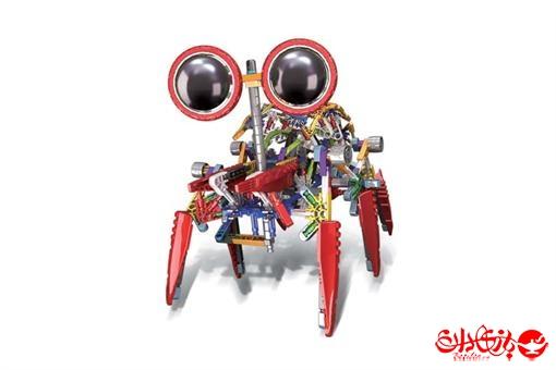اسباب-بازی-ربات ساختنی مدل اسپایدر 373 قطعه