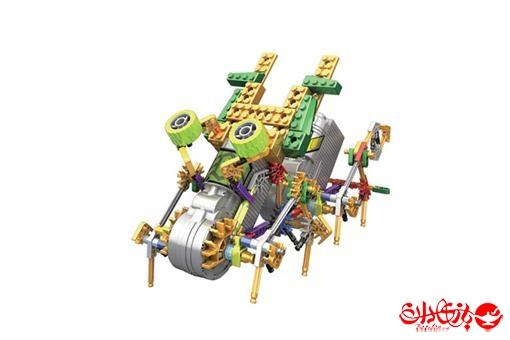 اسباب-بازی-ربات های 3 در 1 ترکیبی مدلهای اسکوتر و هوپر 208 قطعه