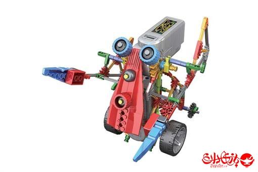 اسباب-بازی-ربات های 3 در 1 ترکیبی مدلهای اسپیدی و کراولر 209 قطعه