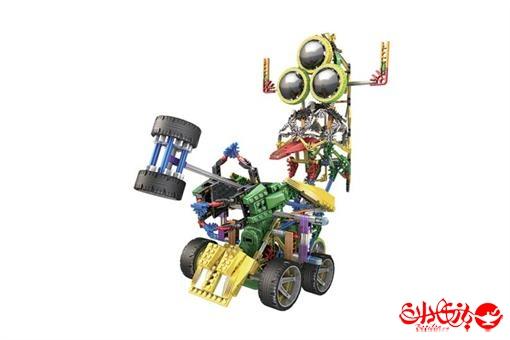 اسباب-بازی-ربات های 3 در 1 ترکیبی مدلهای ریزور و جامپ 622 قطعه