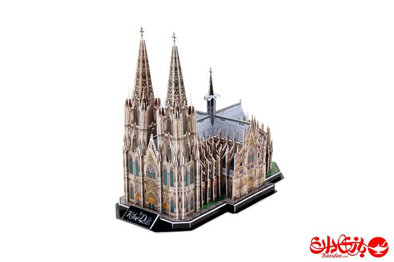 تصویر-شماره-1-پازل-سه-بعدی-فومی-کلیسای-جامع-کلن-آلمان-179-تکه