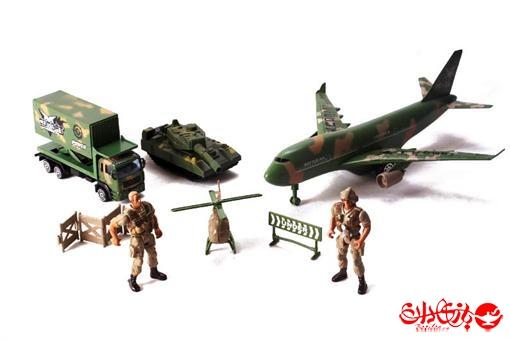 اسباب-بازی-ست ماشین آلات نظامی