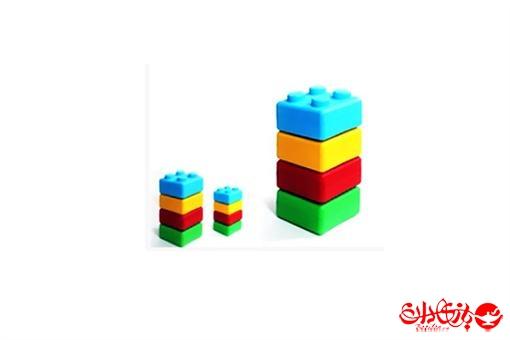 اسباب-بازی-آجرک های رنگی جامبو