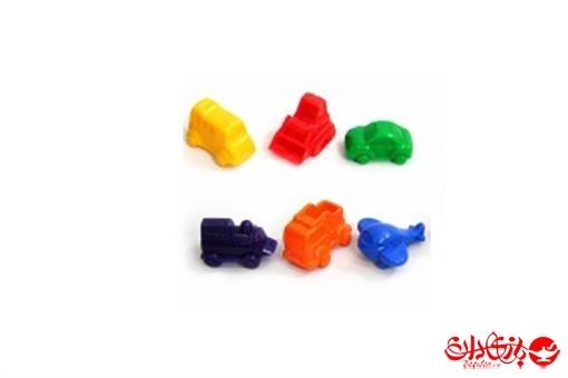 اسباب-بازی-ماشینک پلاستیکی رنگی بزرگ