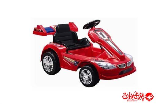 اسباب-بازی-ماشین شارژی دو موتوره بی ام و ١٨ کنترلی